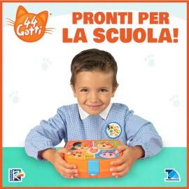 Set Scuola (Portamerenda, Asciugamano, Zainetto, 2 patch in tessuto)