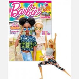 Agosto 2021 + Barbie Made to Move  bionda capelli lisci (FTG81)