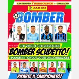 Numero Speciale (Riparte il campionato) + 7 bustine Calciatori 2019-2020 + 1 bustina Gommaglie