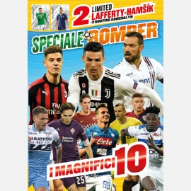 Poster Speciale BOMBER + 2 Cards Limited Edition (LAFFERTY Irlanda e HAMSIK Slovacchia) + 2 Bustine Road to UEFA EURO 2020 Adrenalyn XL + 1 Bustina Gommaglie