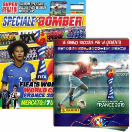 Speciale BOMBER + Album FIFA's Women World Cup France 2019 + Bustina GomMaglie