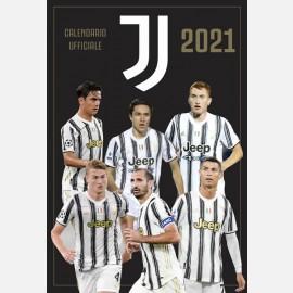 Calendario Juventus 2021 - Verticale