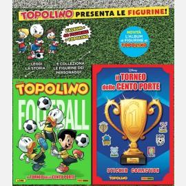 Topolino N° 3368 + Album de Il Torneo delle Cento Porte + 40 figurine