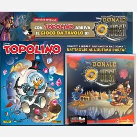 Topolino N° 3352 + Plancia gioco Donald Quest
