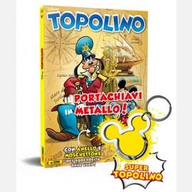 Topolino N° 3390 + Portachiavi in metallo