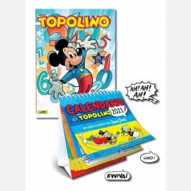 Topolino N° 3392 + Calendario da tavolo 2021