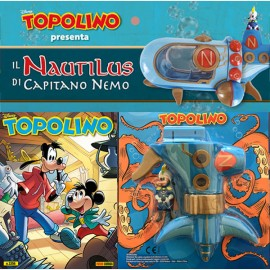 Topolino N° 3356 + sottomarino Nautilus + Pippo