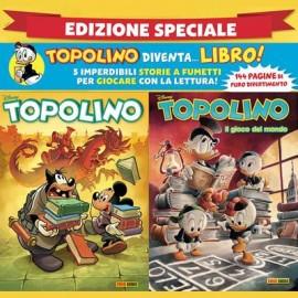 Toplino N° 3311 + Topolibro - Il gioco del mondo