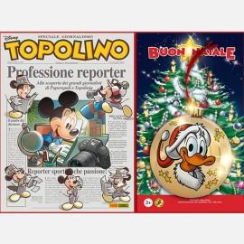 Topolino n. 3340 + pallina natalizia d'oro