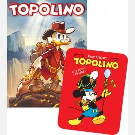 Topolino N° 3307 + Targa in metallo del Topolino Nr. 1