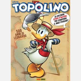 Topolino N° 3313  - Copertina-puzzle 2 di 4