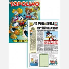 """Topolino N° 3319 + Papersera """"Dov'è finito Zio Paperone?"""""""