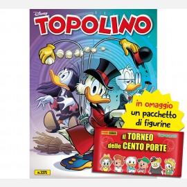 Topolino N° 3371 +  10 Figurine Il Torneo delle Cento Porte