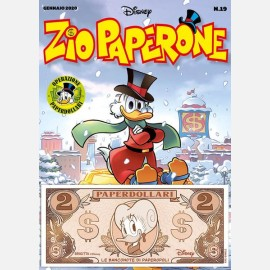 Zio Paperone 19 + Banconota 2 Paperdollari (Brigitta)