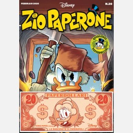 Zio Paperone 20 + Banconota 20 Paperdollari (Nonna Papera)