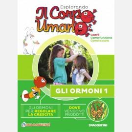 """Fascicolo """"Gli ormoni"""" + DVD in HD"""