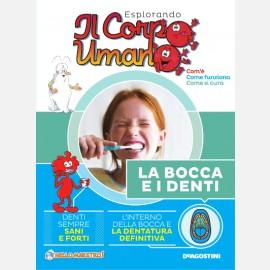 """Fascicolo """"La bocca e i denti"""" + DVD in HD"""