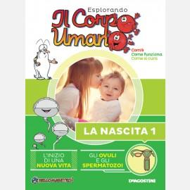 """Fascicolo """"La nascita"""" + DVD in HD"""