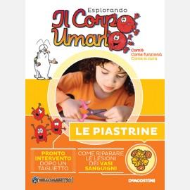"""Fascicolo """"Le piastrine"""" + DVD in HD"""