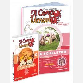 """Fascicolo """"Lo scheletro"""" + DVD in HD"""