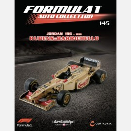 Jordan 196 Peugeot (1996) - Rubens Barrichello + raccoglitore fascicoli