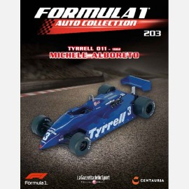 Tyrrell 011 - 1982 - Michele Alboreto