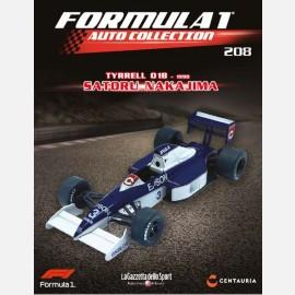 Tyrrell 018 - 1990 - Satoru Nakajima