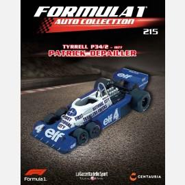 Tyrrell P34/2 - 1977 - Patrick Depailleur