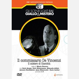 Il commissario De Vincenzi - Il mistero di Cinecittà (puntate 1-2)