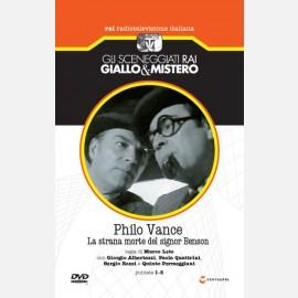 Philo Vance - La strana morte del signor Benson (puntate 1-2)