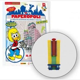 1 parte grattacielo papersera + 1 pezzo base