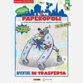 1 parte motoscafo cercatesori + Zio Paperone + 1 pezzo base