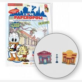 1 Parti Quack Town + 1 Lampione + 1 Pezzo base