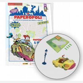 Car Paperina + 1 Lampione + 1 Pezzo base