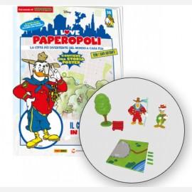 Pico De Paperis + Gran Mogol + 1 albero + 1 panchina + 1 pezzo base