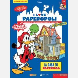 1 parte casa di Paperoga + Anacleto + 1 pezzo base