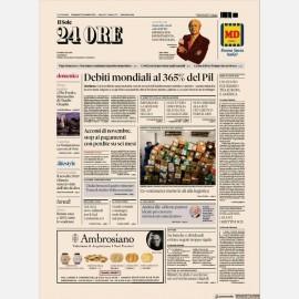 Ediz. di Domenica 22 Novembre