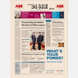 Ediz. di Domenica 27 Maggio 2018
