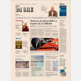 Ediz. di Domenica 29 Luglio 2018