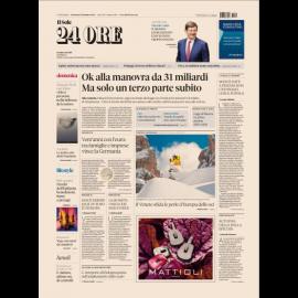 Ediz. di Domenica 30 Dicembre 2018