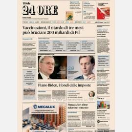 """Ediz. di Giovedì 01 Aprile + Focus n. 8 """"Decreto Sostegno Draghi"""""""