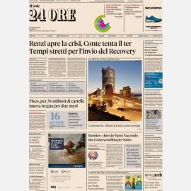 "Ediz. di Giovedì 14 Gennaio + Focus n .1 ""Legge di Bilancio"""