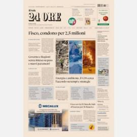 """Ediz. di Giovedì 22 Luglio + Focus n. 21 """"Decreto sostegni-bis: le misure su fisco, imprese e lavoro"""""""