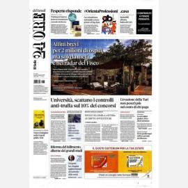 Ediz. di Lunedì 05 Agosto