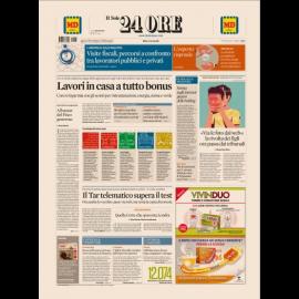 Ediz. di Lunedì  08 Gennaio 2018
