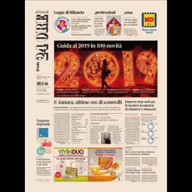 Ediz. di Lunedì 31 Dicembre 2018