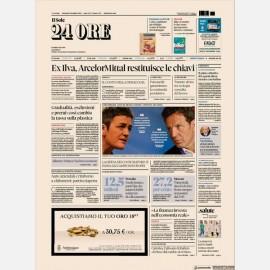 Ediz. di Martedì 05 Novembre + Rapporti24