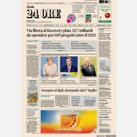 """Ediz. di Mercoledi 23 Giugno + Focus n. 18 """"Contratti internazionali"""""""