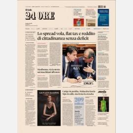 Ediz. di Sabato 04 Agosto 2018 + Enigmistica24 n. 2