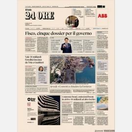Ediz. di Venerdì 06 Settembre + How to spend it + Omaggio Rapporto Sole24h Nord Est